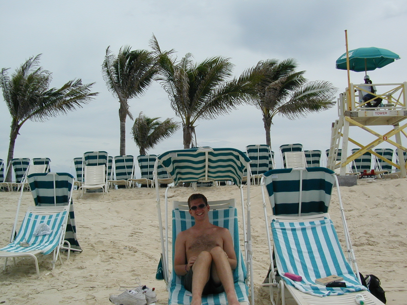 Matt in the Bahamas