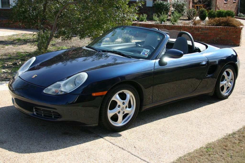 the Boxster