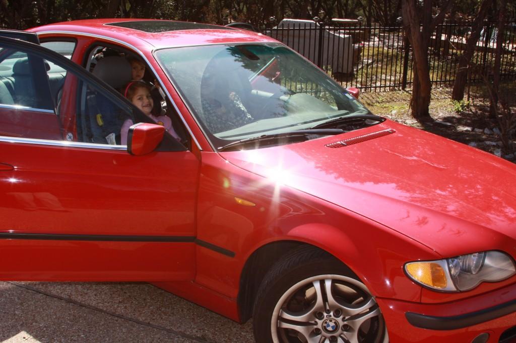 the 330 aka Shiny Red